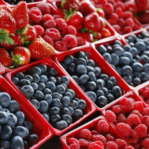 Органические ягоды